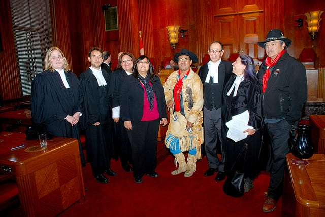 On June 26, 2014 the Supreme Court of Canada issued an unprecedented decision on Indigenous land rights in Tsilhqot'in Nation v. British Columbia, granting the first declaration of Aboriginal Title in Canadian history. This is the team of people who won the case.